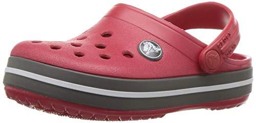 crocs Crocband Clog Kids, Unisex-Kinder Clogs, Rot (Pepper/Graphite), 30/31