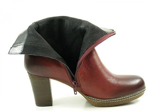Gabor Comfort Sport, Bottes Classiques Femme Rouge