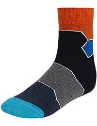 Eccellente Men's Fashion Colourful Socks (1 Pair) - 5 Colours