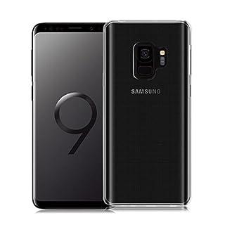Tqla Samsung Galaxy S9 Hülle [0,5mm Transparent Case Silikon Durchsichtig Handyhülle Ultra Dünn Schutz]