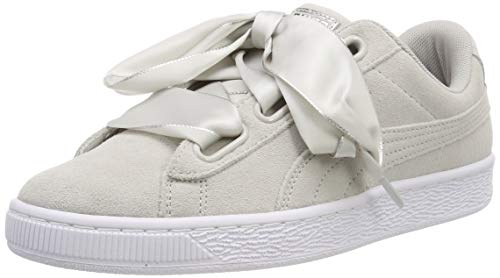 Puma Damen Suede Heart Galaxy Wn's Sneaker Grau (Gray Violet Silver), 37 EU