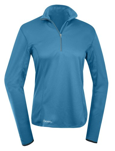 sporthill Damen Dash Zip Top XL Baltic