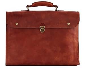LE PLIABLE porte-documents en cuir souple malette pliable PAUL MARIUS