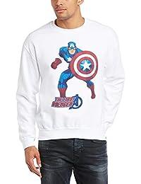 Marvel Avengers Assemble Captain America The First Avenger - Sudadera Hombre