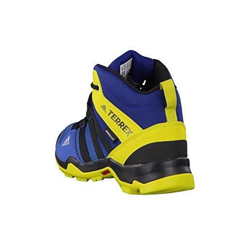 adidas Unisex-Kinder Terrex Ax2r Mid Cp K Wanderschuhe Blau (Azubas/negbas/limuni)