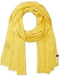 Marc O'Polo Damen Schal 802809302211, Gelb (Lemon Taste 233), OSO