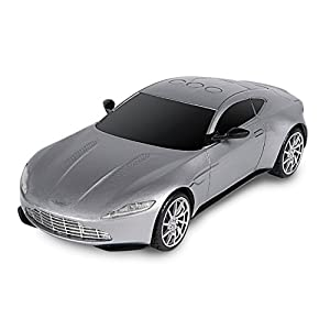 "James Bond 007 ""Spectre Motorised Aston Martin DB10"" Car with Light and Sound (Silver) by Toy State"