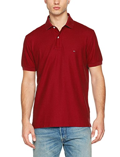 Core Tommy Regular, Polo para Hombre, Negro (Flag Black 032), XX-Large Tommy Hilfiger