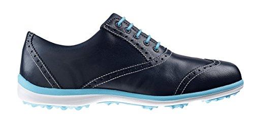 Footjoy , Damen Golfschuhe, Damen, Azul Marino/Azul Cian, 38 (M)