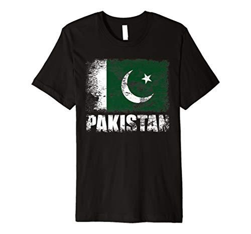 Pakistan Flagge T-Shirt | pakistanischen Flagge Tee Geschenk