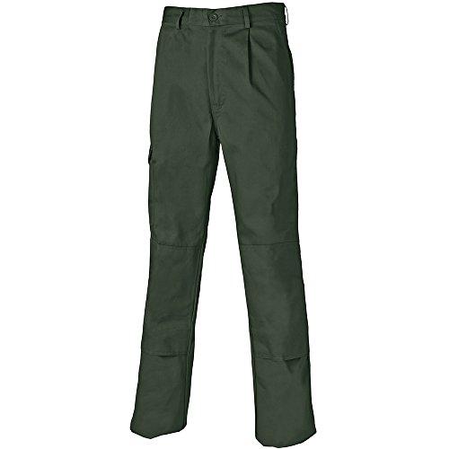 Dickies WD884 - Pantalones de Trabajo Para Hombre, Verde (OliveOL), 40R (40/32)