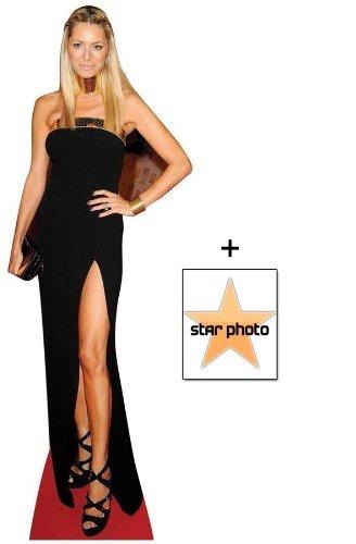 *FAN PACK* - Tess Daly Lifesize Cardboard Cutout / Standee - INCLUDES 8X10 (25X20CM) STAR PHOTO - FAN PACK #363 by (Starstills UK) Celebrity Fan Packs