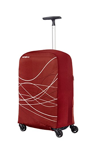 Imagen de samsonite foldable luggage cover s funda para , color burdeos