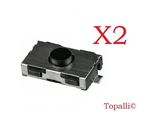 Lot de 2 switch pour Peugeot 206 , original , TOPALLI©
