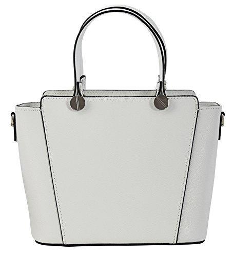 ADRIANA Henkeltaschen Handtasche Italienische Tasche Echtes Leder Made in Italy