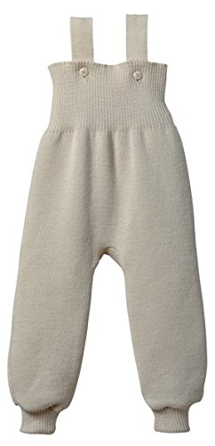 Disana 33110XX - Strick-Trägerhose Wolle grau, Size / Größe:62/68 (3-6 Monate)