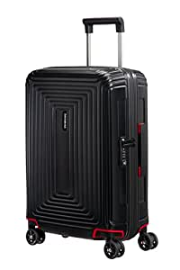 Samsonite Hand Luggage, 55 cm, 38 Liters, Matte Black