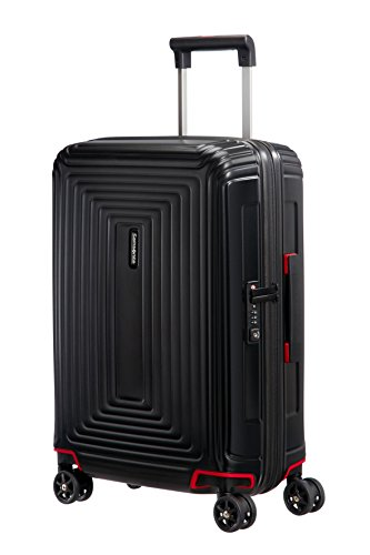 Samsonite Neopulse Spinner Hand Luggage, 55 cm, 38 L, Schwarz (Matte Black)
