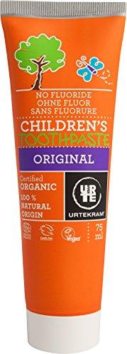 Urtekram Kinder Zahnpasta Original Bio, ohne Flour, 1er Pack (1 x 75 ml)