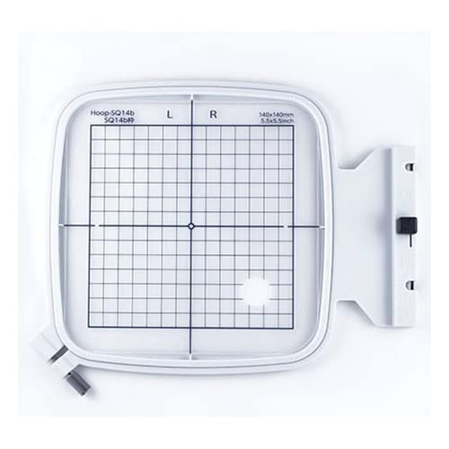 Janome SQ14B 5.5 x 5.5 Embroidery Hoop fits MC500E, 400E and More! by Janome