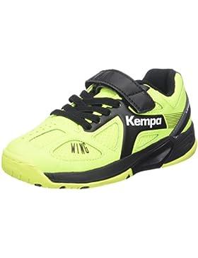 Kempa Wing Junior Caution, Zapatillas de Balonmano Unisex niños