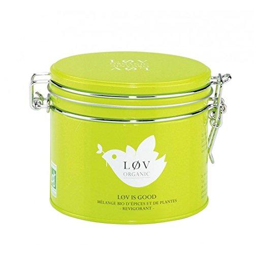 KUSMI Tea / Løv ORGANIC - Løv is Good Bio-Kräuter-Tee - 100gr Dose