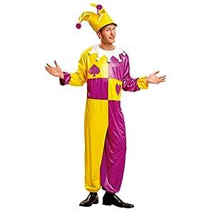 My Other Me Me - Disfraz de Bufón para hombre, talla M-L (Viving Costumes MOM00562)