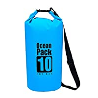 Portable Waterproof Luggage Dry Bag For Drifting Rafting Canoe Bag Travel Kit 10L