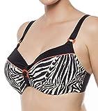 ulla Lingerie féminine Bikini-Oberteil Nizza Cup D-K mit Bügel 9622 Savanne 95I