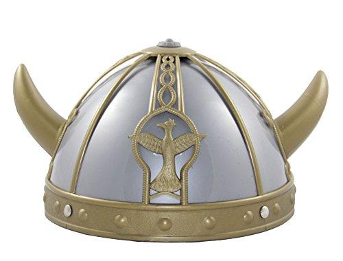 Foxxeo Wickinger Helm für Kinder Karneval Fasching Party Barbaren Hörner Kind Hut (Kinder Wikinger Helm)