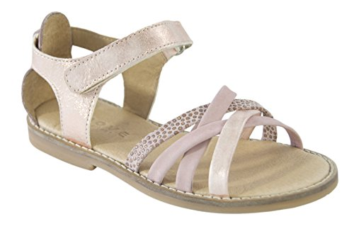 MOVE Girls Riemchensandale, Sandales  Bout ouvert fille Pink (Alt Rosa)