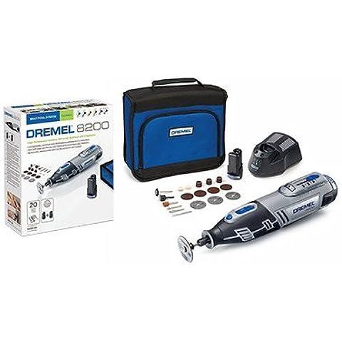 Dremel 8200-20 - Multiherramienta (10,8 V, 20 accesorios, con batería Li-ion)