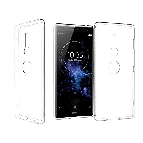 Sony Xperia XZ2 Hülle, KingShark Ultradünn TPU Schutzhülle Flexibel Silikon Case Cover Handyhülle Slimcase Rückschale für Sony XZ2 TPU 2018 (4,5