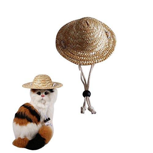 Milopon Pet Hat Cap Cat Dog Stra...