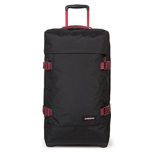 Eastpak Tranverz L Valise, 79 cm, 121 L, Noir (Black-Red)