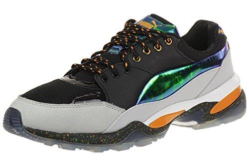 Alexander McQueen Sneakers PUMA Canvas und Details in Leder Schwarz laminiert Schwarz