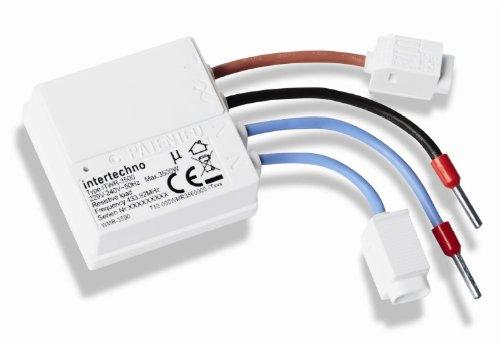 Itwr 3500, ferngesteuerter Betriebsschalter, kompaktes Design, passt in jede Unterputzdose