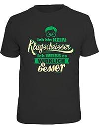 Original RAHMENLOS T-Shirt: Ich bin kein Klugscheisser…