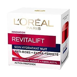 Loréal Paris Revitalift Soin Nuit Hydratant Anti Rides Extra Fermeté Anti âge 50 Ml