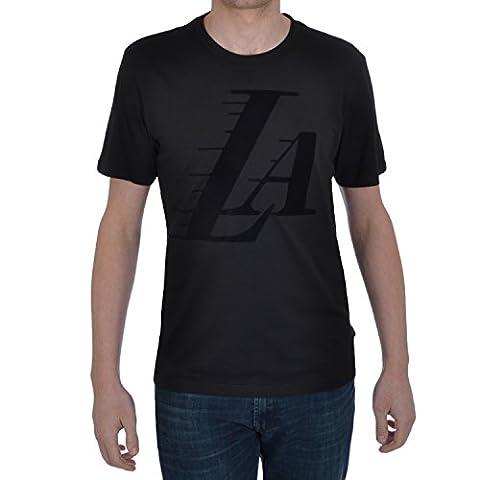 Adidas Originals Herren NBA LA Lakers Logo Top schwarz schwarz