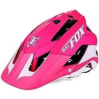 BAT FOX F-659 Ultraligero Cascos de Bicicleta,Antivibraciones, Protección Solar, Moda, Transpirable, Casco de Ciclismo Especializado para Montaña/Bicicleta de Carretera Unisex