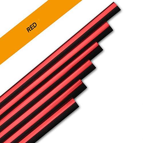 10pcs 20cm Universal Car Air Conditioner Outlet Vent Decoration Strip, Moulding Trim Strips Car Styling, Auto -Motiv Interior Accessories - Colorful Shiny Cover Motiv Trim