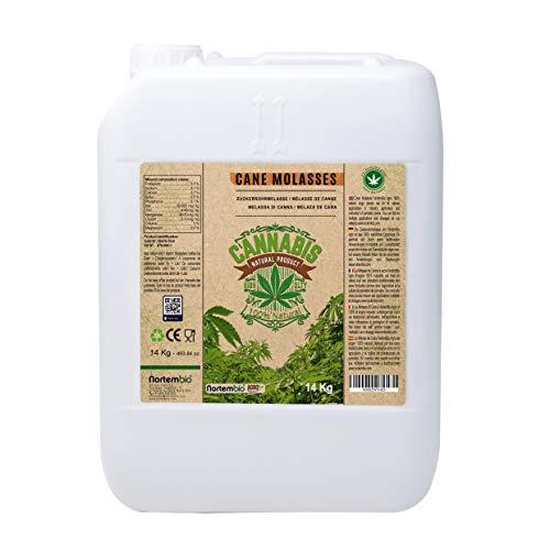 NortemBio Agro Melaza de Caña Natural 14 Kg. Especial para Cultivos de Cannabis y Marihuana. Mejora su Crecimiento y Floración. No Sulfurada. Producto CE