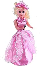S S Traders - Dancing and Singing Doll with Dress (Multicolor)