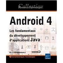 Android 4 - Les fondamentaux du développement d'applications Java de Nazim BENBOURAHLA ( 12 septembre 2012 )