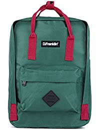 D. Franklin Backpack, Mochila Unisex Adultos, 16x36x27 cm (W x H x L)