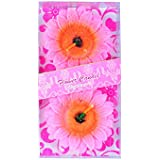 PartyHut Pink Sun Flower Floating Candle- Set Of 2 Candles