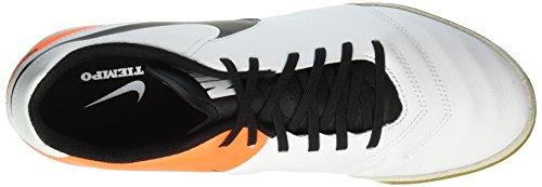 Nike Herren Tiempox Genio Ii Leather Ic Laufschuhe Weiß (White/Black-Total Orange)