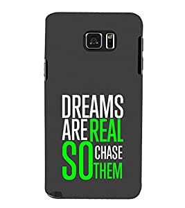 Print Masti Designer Back Case Cover for Samsung Galaxy Note 5 :: Samsung Galaxy Note 5 N920G :: Samsung Galaxy Note5 N920T N920A N920I (Deams Are Real Copy Them)