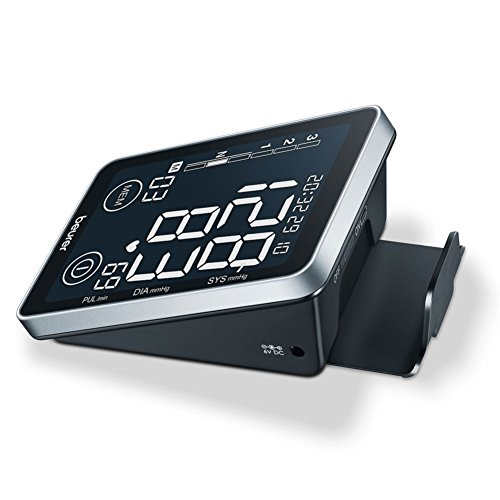 Beurer BM 58 Oberarm-Blutdruckmessgerät, mit Sensor-Touch-Knöpfen, beleuchtetes XL-Display, USB Schnittstelle - 5